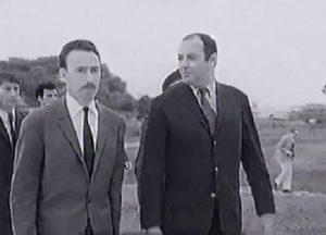 Abdelaziz Maoui avec Boumediene