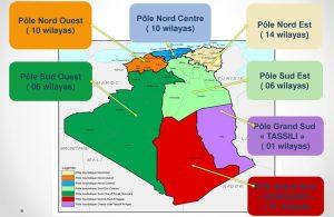 Pôles d'excellence de Tourisme en Algérie